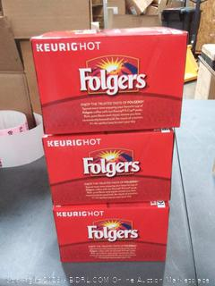 Folgers Gourmet Classic Roast K-Cups -- 12 Cups | Kroger Ship pack of 3