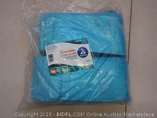 "Dynarex Disposable Underpads 17"" x 24"" (22g), Pack of 100"