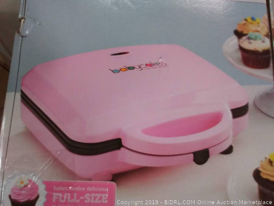 instructions for babycakes cupcake maker