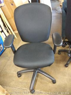 HON Mid-Back Task Chair, Black Fabric (HVL220.VA10)