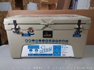 nICE 75 Quart Lockable Bear Resistant Insulated Portable Cooler(corner cracked) online $209
