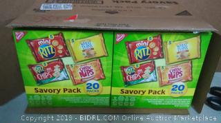 Nabisco Savory Mix Multipack 2pack