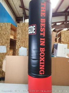 ringside heavy boxing trainer