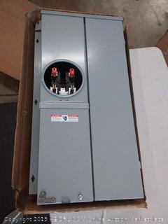 Siemens 200-amp meter load Center combination 40 circuit Max