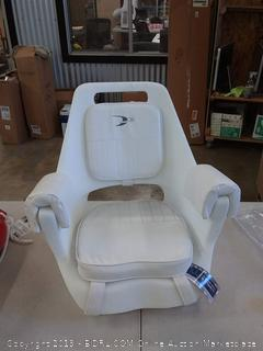 Wise white boat seat
