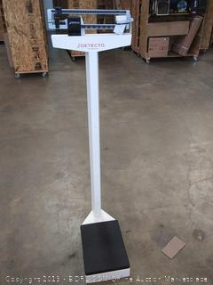 Detecto 437 eye level physician scale without height rod
