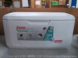 Coleman Coastal Xtreme Series Marine Portable Cooler, 120 Quart Tear on right front side preview item