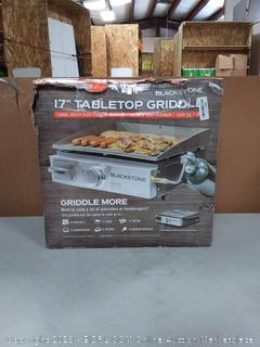 Blackstone Portable Table Top Camp Griddle, Gas Grill for Outdoors