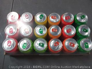bubly Sparkling Water, 8 Flavor Variety Pack, 12 fl oz. cans, (18