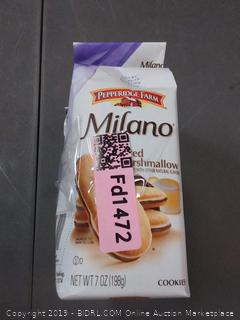 Milano Milano toasted marshmallow cookies pack of 3