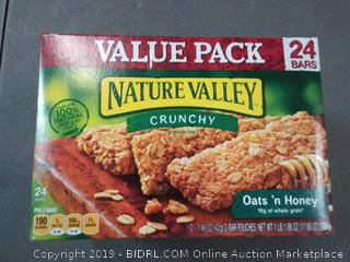 Nature Valley honey and Oats granola bars pack of 2