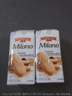 Milano toasted marshmallow cookies pack of 4