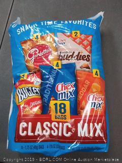 General Mills Classic Mix Snack Pack -- 18 Bags |