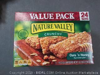 Nature Valley crunchy oats and honey pack of 2