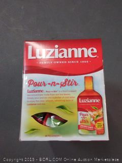 Luzianne Pour-n-Stir Unsweetened Liquid Iced Tea Concentrate, 1 fl pack of 3