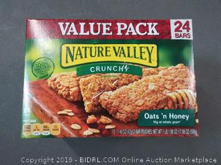 Nature Valley Crunchy Granola Bars-Value Pack Oats 'n Honey -- 24 pack of 2