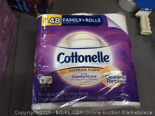 Cottonelle family size rolls 18 toilet paper