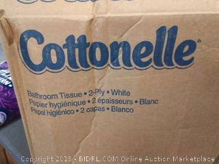 Cottonelle bathroom tissue tissue 60 rolls