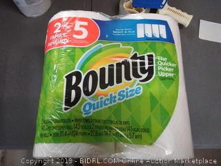 Bounty quick size packing of 4