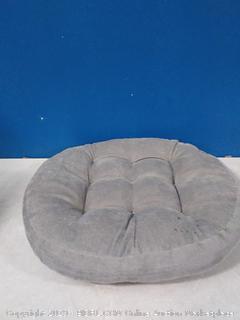Solid Papasan patio seat cushion