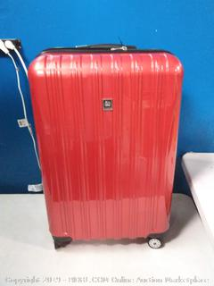 Delsey Luggage Helium Aero 29″ Expandable Spinner Trolley (online $119)