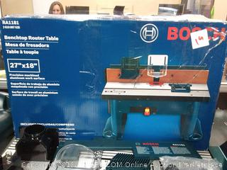 Bosch RA1181 Benchtop Router Table (Online $388)