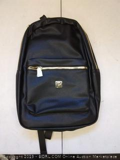 Packs project exclusive vegan leather backpack black