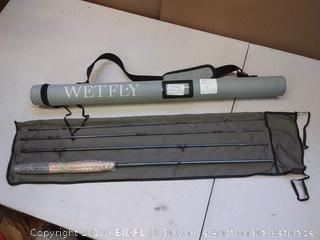 "Wetfly 4 Piece Construction Nitrogen Fly Rod, 7WT/9'0""($159.00)"