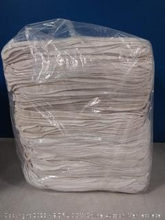 Simpli-Magic 79170 White 500 Pack Shop Towels 14x12, 500 Pack