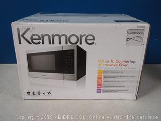 Kenmore 70913 Countertop Microwave, 0.9 cu. ft, Stainless Steel