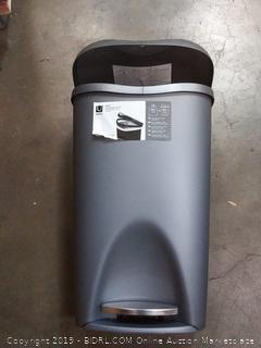 Umbra 50 l pop up garbage bin(small crack on lid)