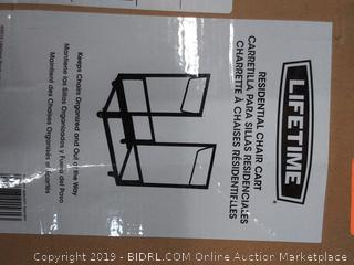 residential chair cart by LifeTime