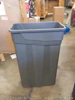 23 gallon slim trash can plastic