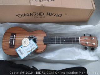 Diamond Head ukulele soprano
