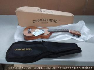 Diamond Head ukulele soprano