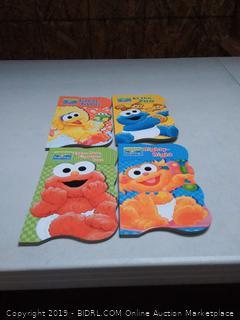 Sesame Beginnings 4 books