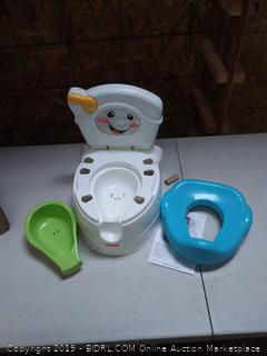 NEW Fisher Price Potty Training Learn to Flush FREE SHIPPING