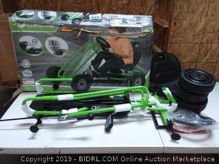Hauck Lightning Ride-On Pedal Go-Kart Green by Hauck