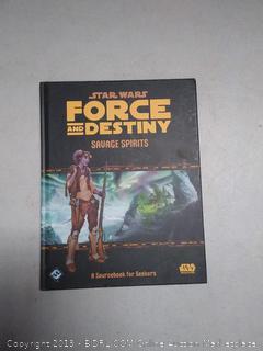Star Wars Force and Destiny RPG : Fantasy Flight Games