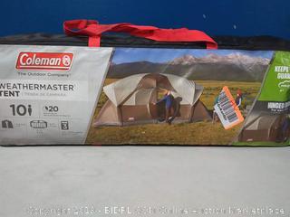 Coleman 2000028058 Tent 17X9 Weathermaster 10 person (online $182)