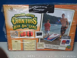 Driveway Games Backyard Cornhole Set. Tailgate Corn Toss Boards & Bean Bags. Family Outdoor Lawn Yard Game