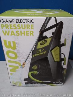 Sun Joe SPX3500 2300-PSI 1.48 GPM Brushless Induction Electric Pressure Washer, w/Brass Hose Connector-Factory Sealed