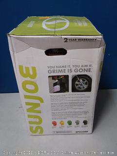 Sun Joe SPX3500 2300-PSI 1.48 GPM Brushless Induction Electric Pressure Washer, w/Brass Hose Connector box damage