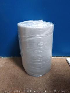 LUCID 3 Inch Bamboo Charcoal Memory Foam Mattress Topper - King (online $79)