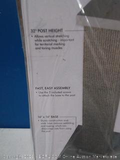 SmartCat Ultimate Scratching Post- Gray