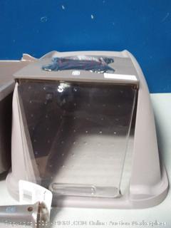 Catit Hooded Cat Litter Pan Kit
