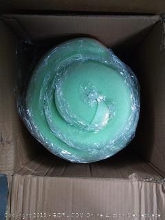 Zinus 3 Inch Green Tea Memory Foam Mattress Topper, Short Queen