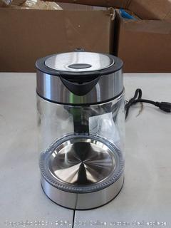 amazonbasics glass electric kettle