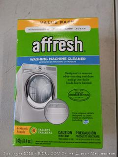 affresh value pack washing machine cleaner recommended by Whirlpool Maytag in Amana