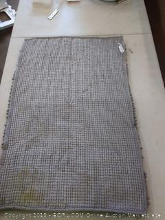 EMS Marlborough original luxury Chenille bath mat